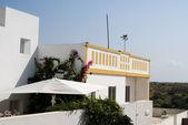 最典型的房子在阿尔加维,葡萄牙 — 图库照片