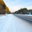 Winter road — Stockfoto #4653856