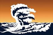 буря — Cтоковый вектор