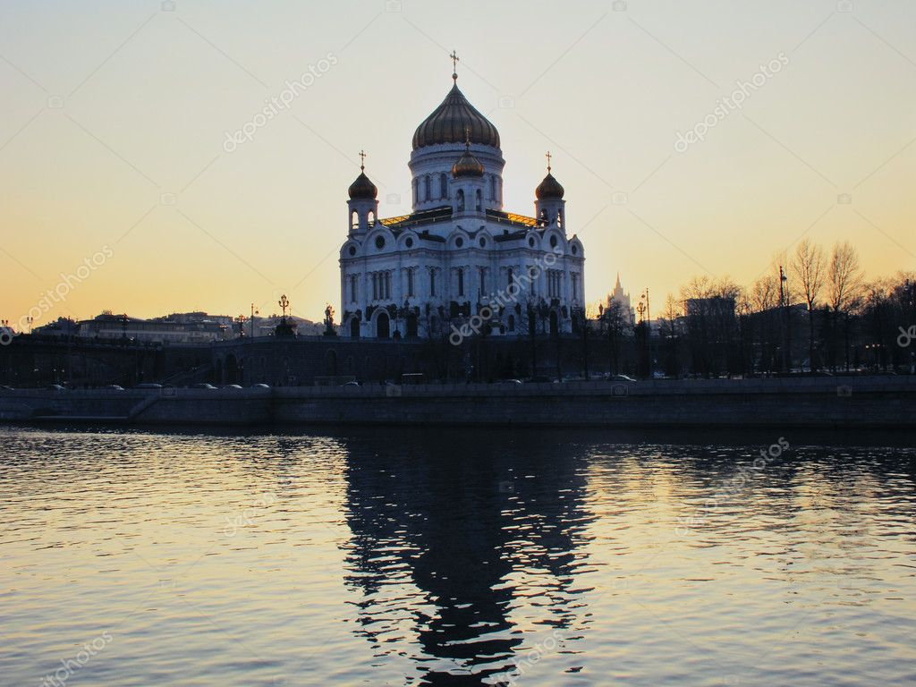 Temple of the Christ of the Saviour in Moscow  Stock Photo #5368651