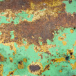 Royalty-Free Stock Photo: Texture of rusty painted metal