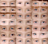 Set Eyes — Stock Photo