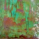 Colored grunge iron background — Stock Photo