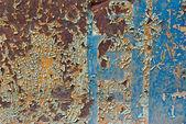 Ferro arrugginito — Foto Stock