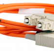 Stock Photo: Optical cable