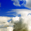 Thick clouds background — Stock Photo