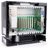 Phone switch chassis — Stock Photo