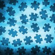 Old paper background with puzzles — Stock Photo