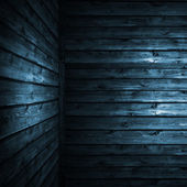 The blue wood texture with natural patterns — Foto de Stock