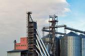 Modern granary — Stock Photo