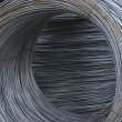 Wire for armature metal in bays. — Stock Photo