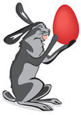 Easter bunny. — Stock Photo