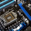 Modern motherboard — Stock Photo