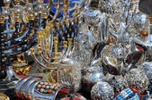 At Flea Market in Jerusalem — Stock Photo