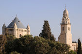 Church of the Dormition of the Virgin Mary im Jerusalem — Stock Photo