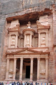 The Traesury at Petra — Stock Photo