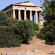 Ancient Temple of Hephaestus — Stock Photo