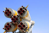 Nozzles of Soyuz Spacecraft — Stock Photo