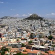 View of Lycabettus Hill in Athens — Stock Photo