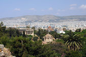 View of Agora in Athens — Stock Photo