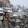 Town of Veliko Tarnovo in the Winter — Stock Photo
