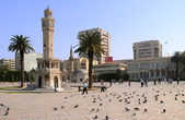 Konak Square in the City of Izmir — Stock Photo