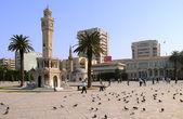Konak Square in the City of Izmir — Stock Photo