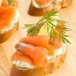 Seafood sandwiches — Stock Photo #4166141