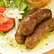Grilled sausages — Stock Photo #4170846
