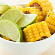 Royalty-Free Stock Photo: Corn and lime