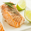 Royalty-Free Stock Photo: Baked salmon