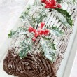 Royalty-Free Stock Photo: Yule log