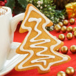 Gingerbread tree — Stock Photo