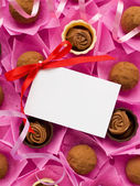 Sweets for Valentine's Day — Stockfoto