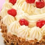 Cherry Cake — Stock Photo