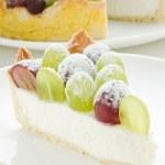 Grape tart — Stock Photo #4941762