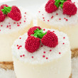 Sour cream cheesecakes — Stock Photo #5086259