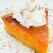 Stock Photo: Pumpkin pie