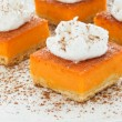 Pumpkin pie — Stock Photo #5355573