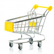A shopping cart — Stock Photo