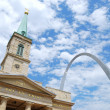 St. Louis sityscape - Stock Photo