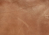 Brown leather texture background — Stock Photo