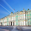 Winter Palace in St. Petersburg — Stock Photo