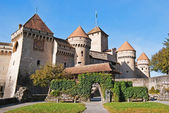 Chillon castle — Stock Photo