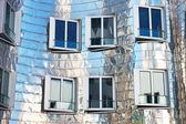 Metal facade — Stock Photo