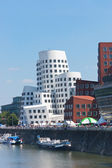 Media Port (Medienhafen) in Dusseldorf — Stock Photo