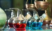 Boccette chimiche retrò — Foto Stock