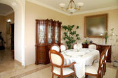 Beautiful dining-hall — Stock fotografie