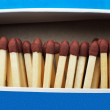 Royalty-Free Stock Photo: Box with matches