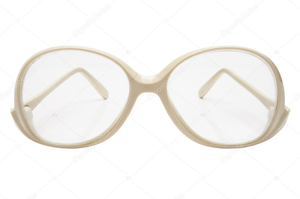 Plastic Glasses Frames Turning White : Old glasses in a plastic frame Stock Photo ? igterex ...